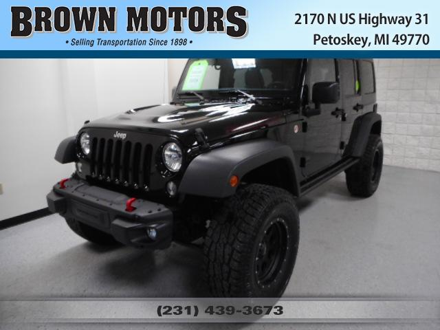 2015 Jeep Wrangler Unlimited 4WD 4dr Rubicon Hard Rock Sport Utility