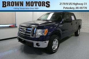 2012 Ford F-150 4WD Supercrew 145 XLT Crew Cab Pickup