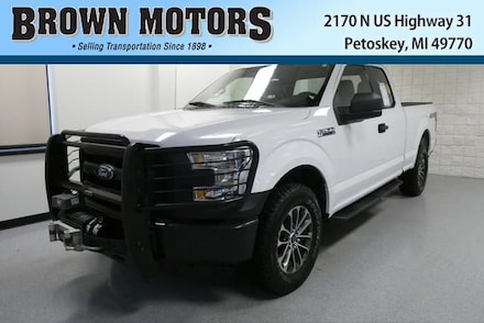 2016 Ford F-150 4WD Supercab 145 XL Extended Cab Pickup