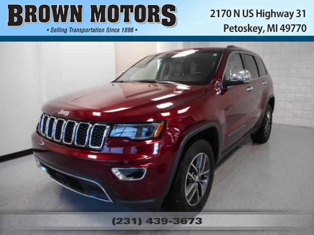 2017 Jeep Grand Cherokee Limited 4x4 Sport Utility