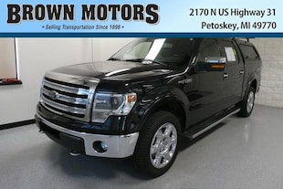 2013 Ford F-150 4WD Supercrew 145 Lariat Crew Cab Pickup