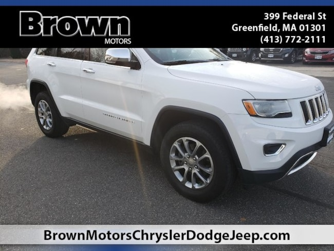 Used 2015 Jeep Grand Cherokee Limited 4x4 SUV near Amherst