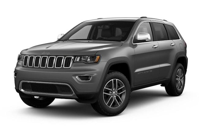 New 2018 Jeep Grand Cherokee LIMITED 4X4 Sport Utility near Amherst