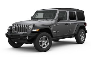 New 2019 Jeep Wrangler UNLIMITED SPORT S 4X4 Sport Utility in Greenfield MA