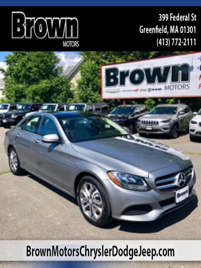 Used 2015 Mercedes-Benz C-Class C 300 4MATIC Sedan near Amherst