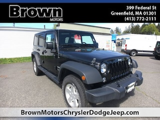 New 2018 Jeep Wrangler Unlimited WRANGLER JK UNLIMITED SPORT S 4X4 Sport Utility in Greenfield MA
