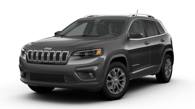 New 2019 Jeep Cherokee LATITUDE PLUS 4X4 Sport Utility near Amherst