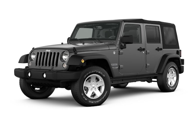New 2018 Jeep Wrangler Unlimited WRANGLER JK UNLIMITED SPORT S 4X4 Sport Utility near Amherst