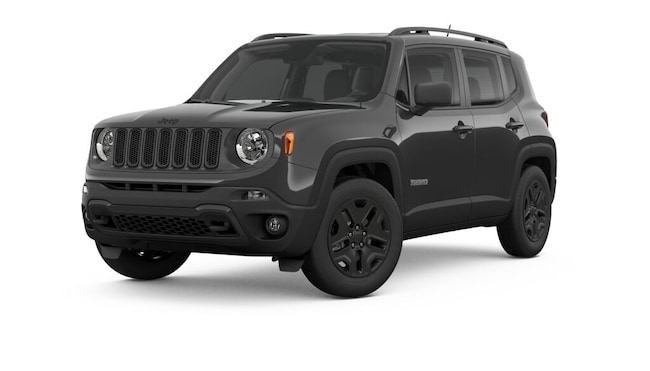 New 2018 Jeep Renegade UPLAND 4X4 Sport Utility near Amherst