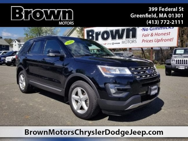 Used 2016 Ford Explorer XLT SUV near Amherst