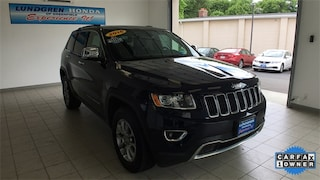 Used 2016 Jeep Grand Cherokee Limited 4x4 SUV for sale in Greenfield