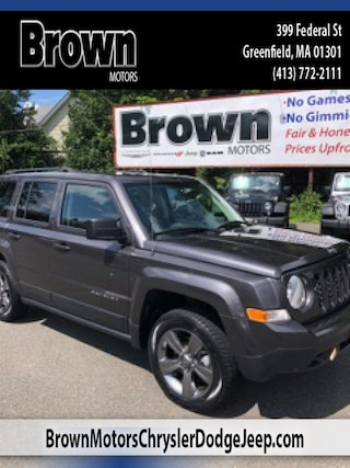 Used 2015 Jeep Patriot Latitude 4x4 SUV 3037 for sale in Greenfield