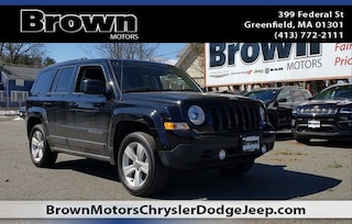 Used 2016 Jeep Patriot Latitude 4x4 SUV 3040A for sale in Greenfield