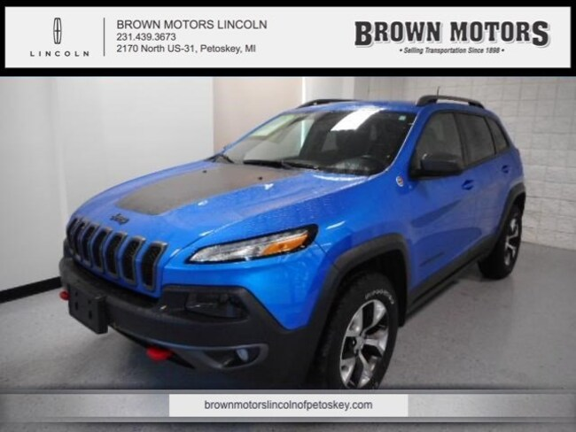 2017 Jeep Cherokee Trailhawk 4x4 *Ltd Avail* Sport Utility