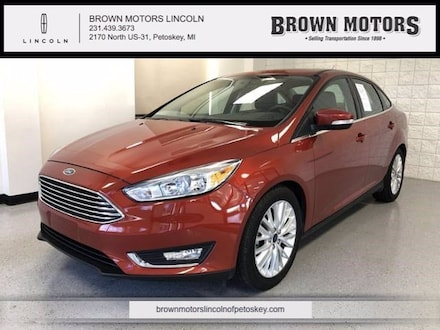 2018 Ford Focus Titanium Sedan Car