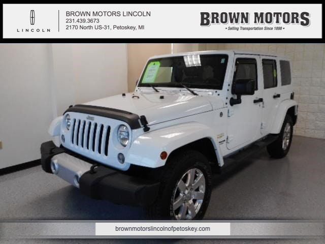 2015 Jeep Wrangler Unlimited 4WD 4dr Sahara Sport Utility