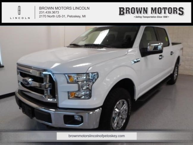 2016 Ford F-150 4WD Supercrew 145 XLT Crew Cab Pickup