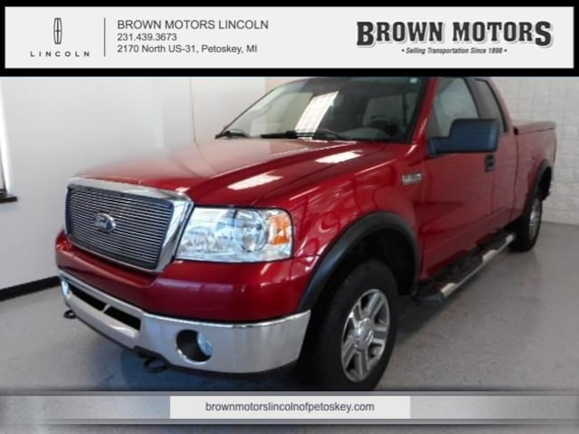 2007 Ford F-150 4WD Supercab 145 XLT Extended Cab Pickup