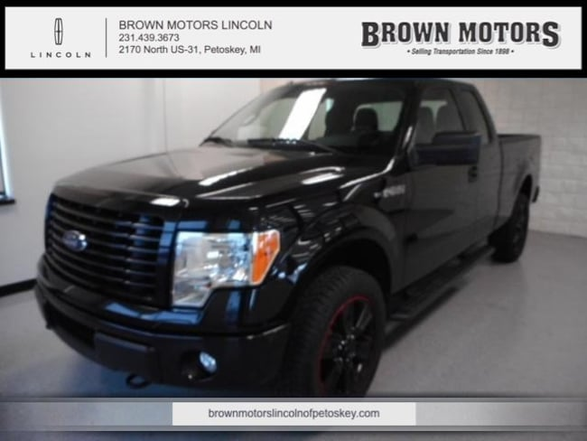 2014 Ford F-150 4WD Supercab 145 STX Extended Cab Pickup