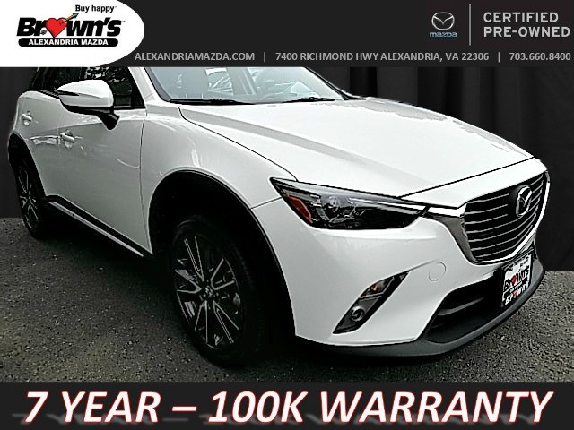 2016 Mazda CX 3 Grand Touring AWD SUV