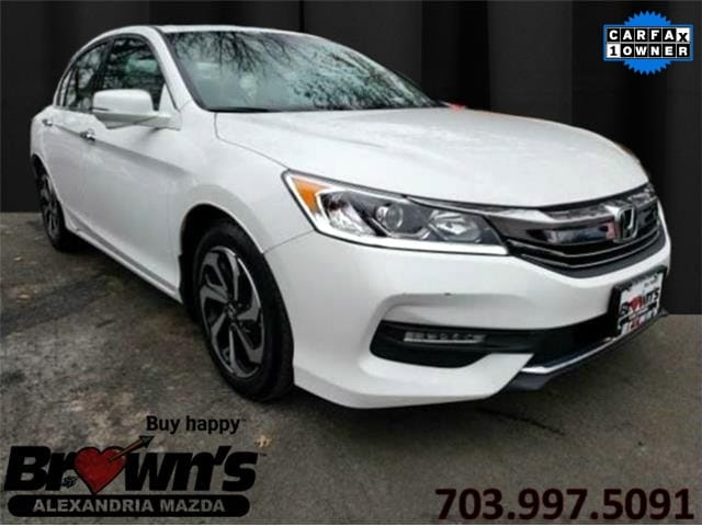 2016 Honda Accord EX-L V-6 w/Navi Sedan