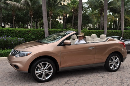 suv nissan crosscabriolet reviews original first convertible s drive photo car ndash and murano embed driver