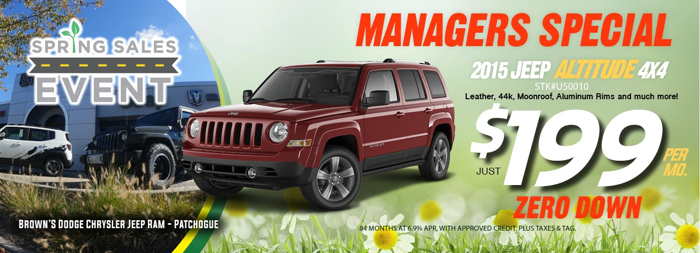 Used Jeep Chrysler Dodge RAM Dealer In Patchogue NY