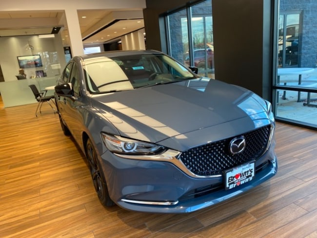 2021 Mazda Mazda6 Carbon Edition Turbo Sedan