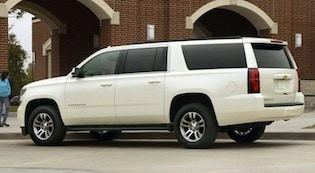 Exterior of the 2017 Chevy Suburban