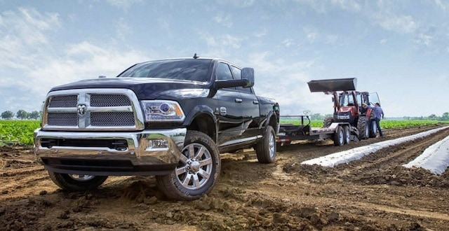 Elkader 2017 RAM 2500 showroom