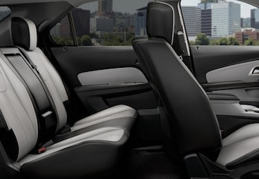 2017 Chevy Equinox passenger space