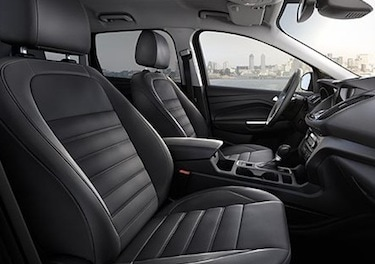 Driver's seat of the new Ford Escape