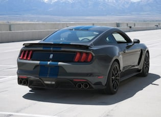 Exterior of the 2017 Ford Mustang Shelby GT350