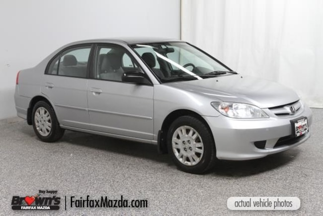 Used 2005 Honda Civic LX Sedan Fairfax