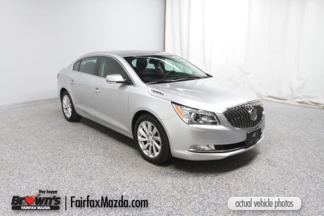 Used 2014 Buick Lacrosse Leather Group Sedan Fairfax