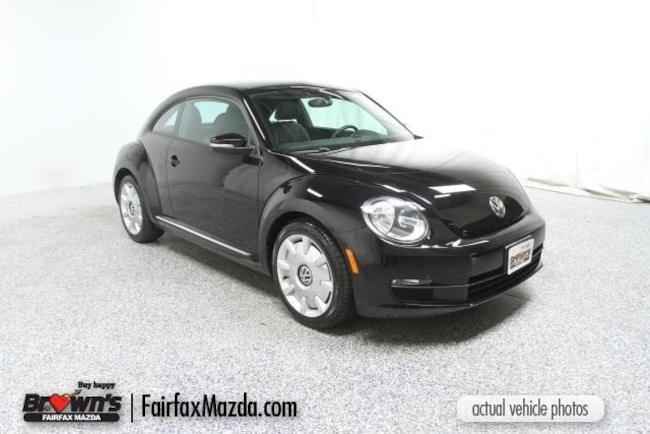 Used 2013 Volkswagen Beetle 2.5L Hatchback Fairfax