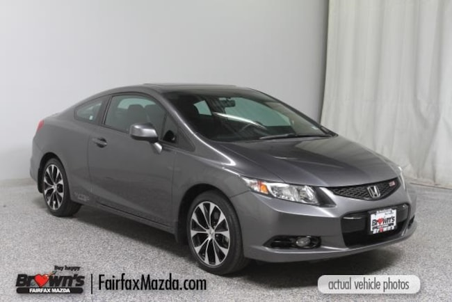 Used 2013 Honda Civic Si Coupe Fairfax