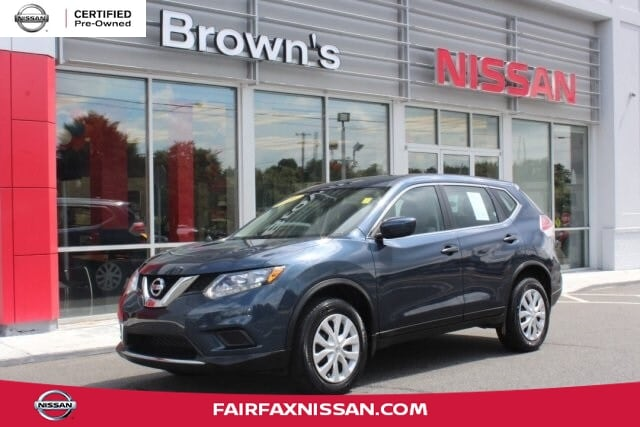 2016 Nissan Rogue S SUV I4 DOHC 16V CVT with Xtronic P15549