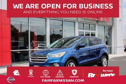 2017 Ford Escape SE SUV EcoBoost I4 GTDi DOHC Turbocharged VCT 6-Speed Automatic A45495