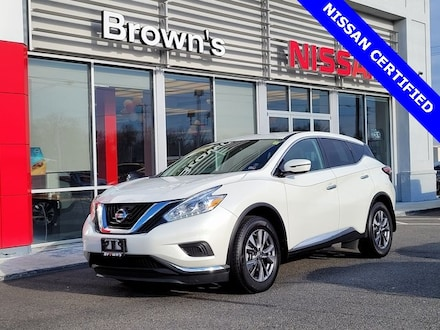 2017 Nissan Murano S SUV V6 CVT with Xtronic A45966