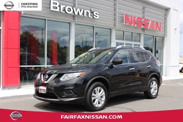 2016 Nissan Rogue SV SUV I4 DOHC 16V CVT with Xtronic V15498