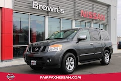 2012 Nissan Armada SV SUV 8-Cylinder SMPI DOHC 5.6L 5-Speed Automatic with Overdrive A81654