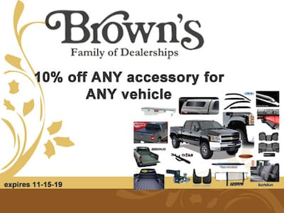 10% Off Any Accessory for Any vehicle
