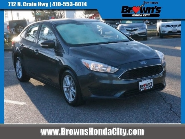 Used 2016 Ford Focus Se For Sale In Glen Burnie Md P75467