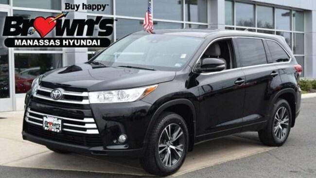 Used 2017 Toyota Highlander LE AWD SUV Manassas