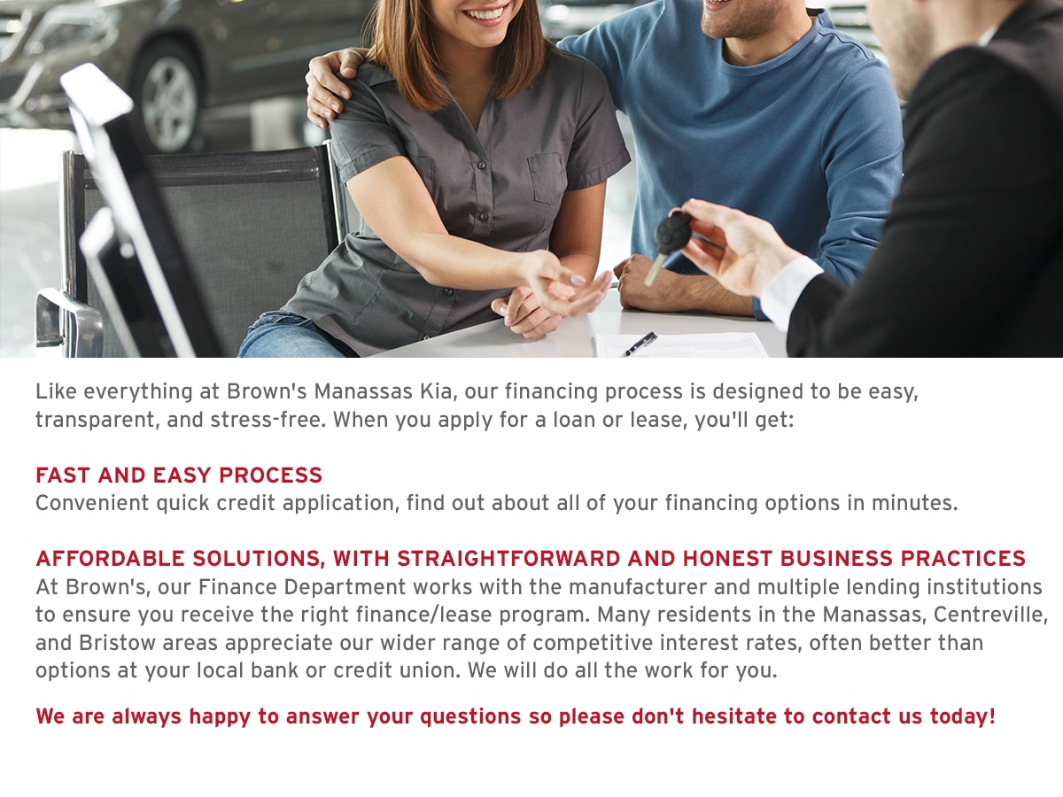 Lease Loan Process Near Washington DC