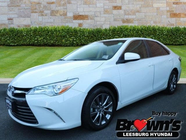 Toyota Camry Used >> Used 2016 Toyota Camry Xle For Sale In Leesburg Va Serving