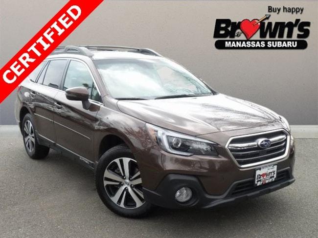 Used 2019 Subaru Outback 3.6R Limited SUV CVT Lineartronic Manassas