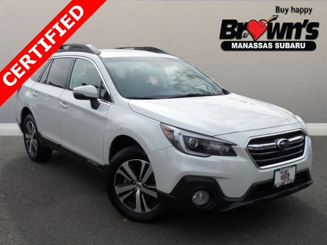 Certified Used 2019 Subaru Outback 3.6R Limited SUV CVT Lineartronic Manassas