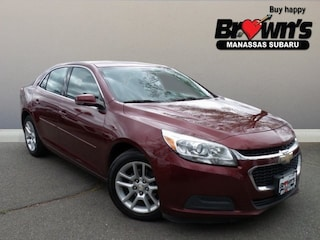 2015 Chevrolet Malibu LT Sedan 6-Speed Automatic Electronic with Overdrive